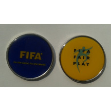 Moneda metalica FIFA