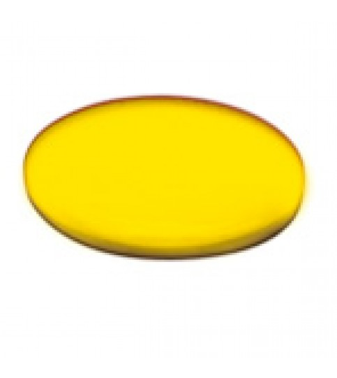 Moneda plastic arbitraj galben/negru